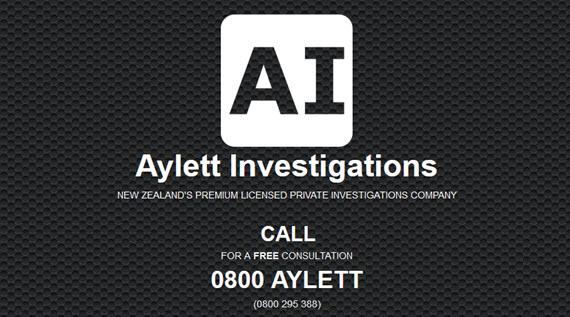 Aylett Investigations - LICENSED Private Investigators (Auckland NZ)