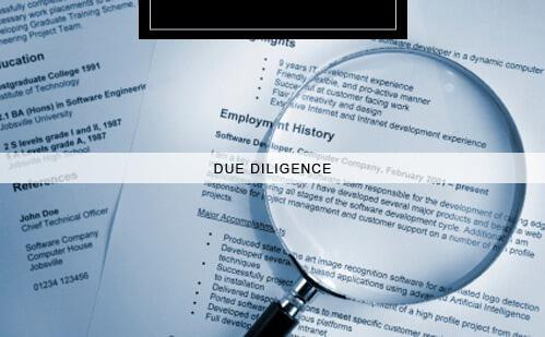 Due Diligence - Private investigators Auckland