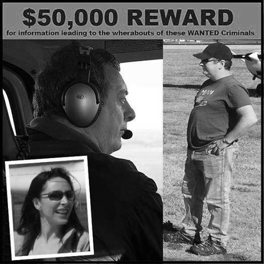 Private investigators Auckland - $50,000 Reward for Serial Fraudsters Paul James Bennett and Sarah / Simone Williams
