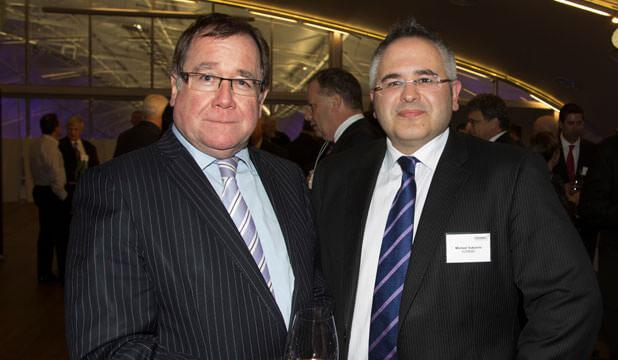 Private investigators Auckland - Foreign Affairs Minister Murray McCully with Michael Vukcevic before Vukcevic's CV was found to have been falsified